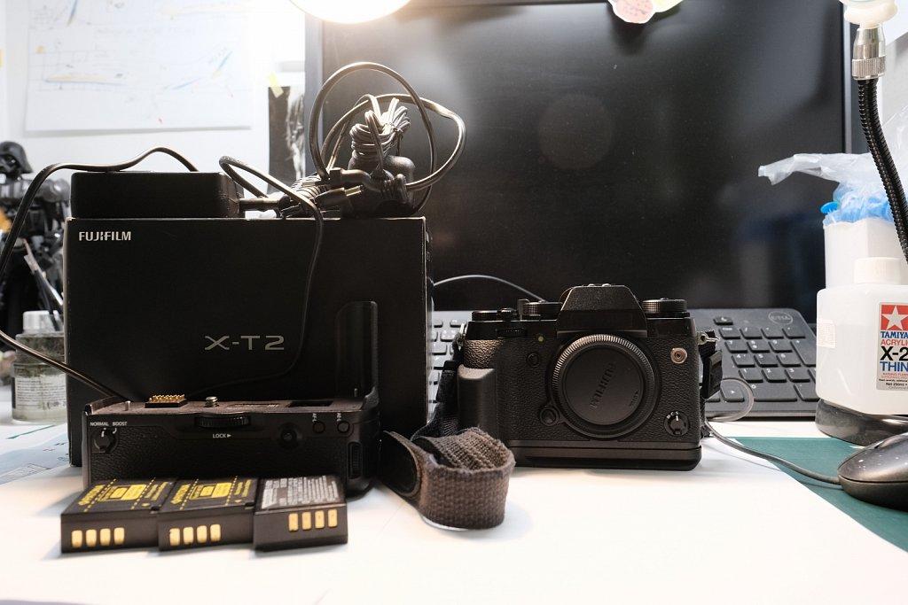 FUJI X-T2 kompletní set